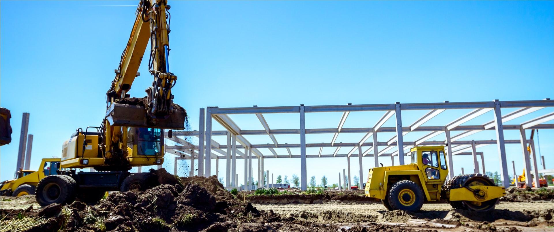 Budowa hal Opolskie Firma budowlana wynajem sprzętu Opole